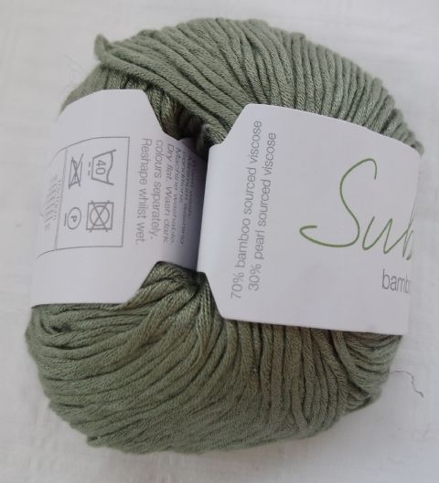 Sublime Bamboo and pearls DK 50g Sage Green